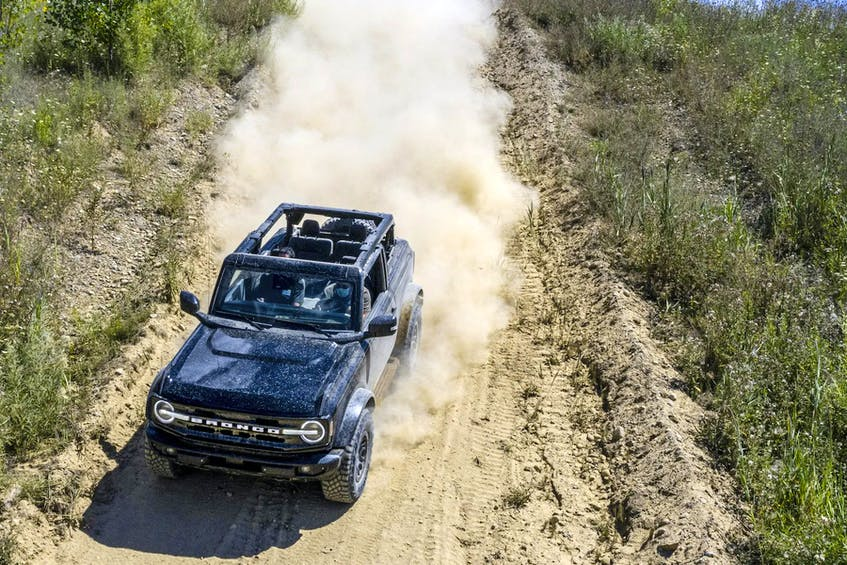 The big question remains: Is there a market for another hard-core off-roader? Handout/FORD - POSTMEDIA