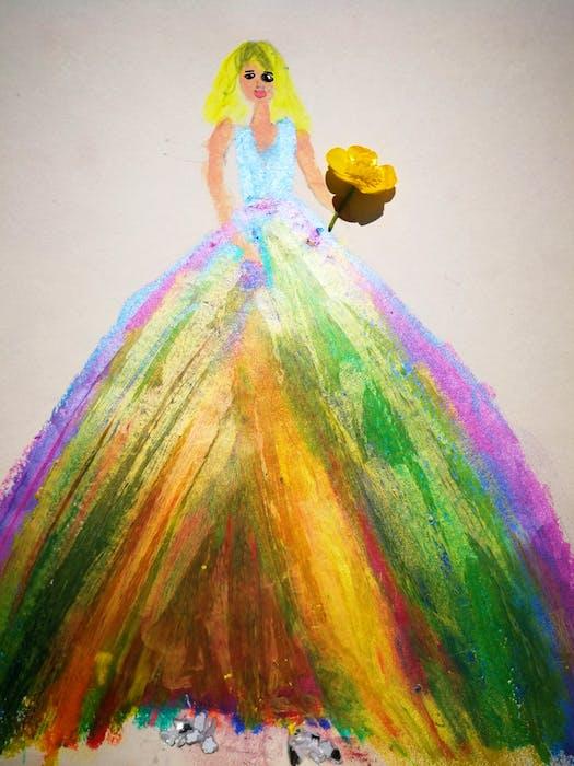 Artwork by Rainbow Li. - Contributed