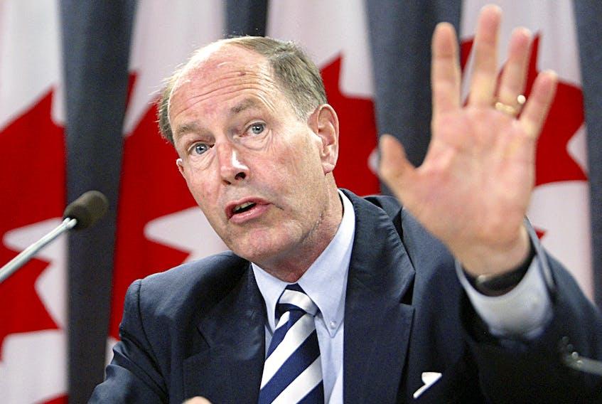 Former Bank of Canada Governor David Dodge.