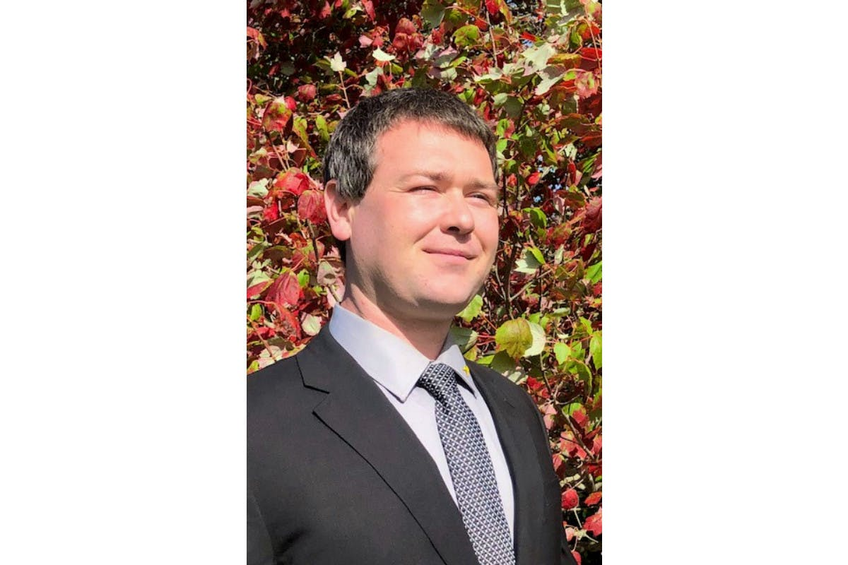 Michael MacLean, pictured, is seeking the Green party nomination in the Cardigan riding for the next federal election.