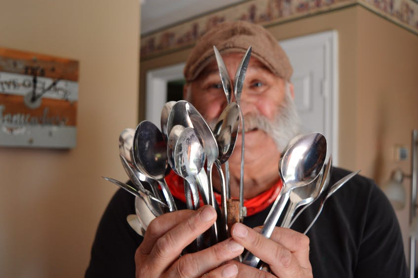 There is no shortage of spoons in Brendon Peters' house, but many of them get turned into musical instruments. Dave Stewart • The Guardian - Dave Stewart/The Guardian