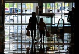 Back-to-school shopping at Guildford Town Centre in Surrey in a file photo.