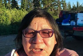 Joanna Michel, an Innu woman who lived at the dorms in North West River for eight years, said she would like to see the old dorm building torn down.