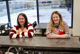 TALO on Ice manager Rita Murphy, left, and restaurant founder and co-owner Angela Houston are enthusiastic about taking over food and beverage service at the recently renovated and ren-named Glace Bay Miner's Forum. DAVID JALA