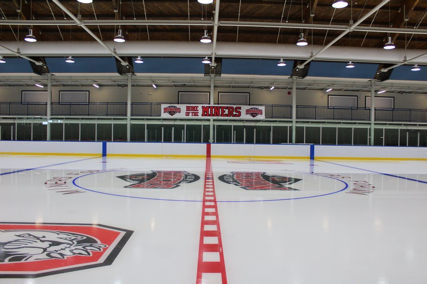 The renovated Glace Bay Miners Forum is a top-notch sports and community centre that features food and beverage service by TALO on Ice, the restaurant that now overlooks the ice surface. DAVID JALA/CAPE BRETON POST - David Jala