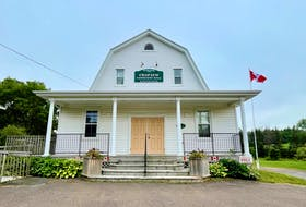 The Crapaud Community Hall served as a meeting space for council in previous months. A meeting was expected in August, however Tom Patterson says that was cancelled. Cody McEachern • The Guardian