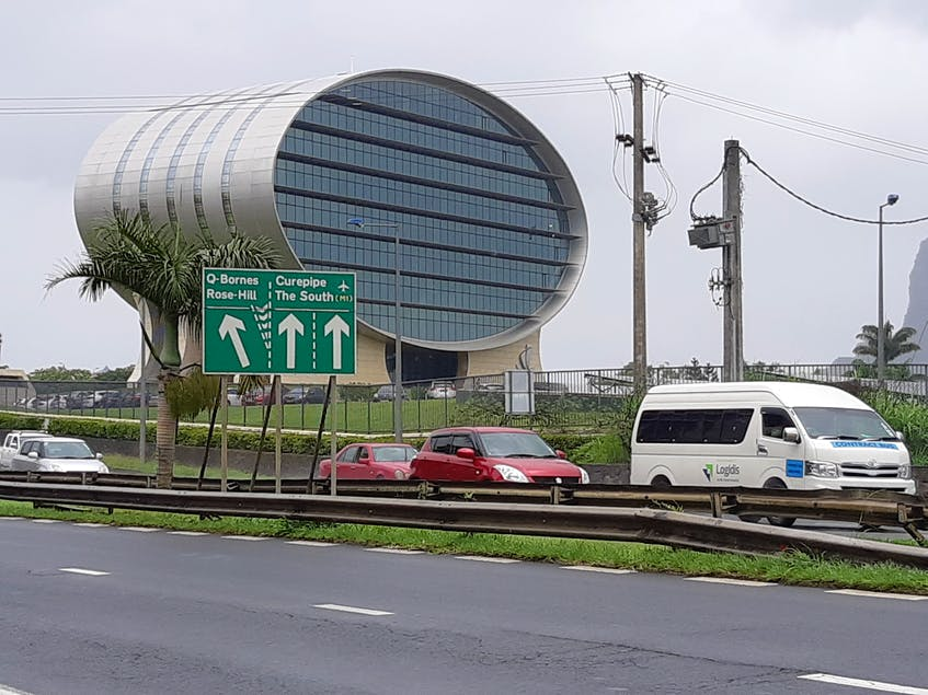 A bank's headquarters are seen in this photo of Mauritius. Andy Jamieson • Special to The Guardian - Contributed