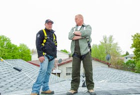 Both Mike Holmes, right, and Steve Graves of Better Contracting say asphalt shingles are the most popular and cost-effective choice for roofs in Canada.