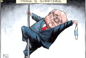 Bruce MacKinnon cartoon for Aug. 25, 2021.