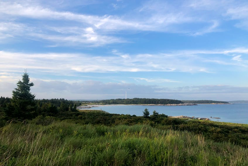 The views of Crystal Crescent Beach are beautiful, writes hiking columnist Heather Fegan, especially looking back on the beaches behind you as well as out over the ocean.