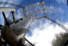 Jeff Bezos' Blue Origin rocket. — Reuters file photo