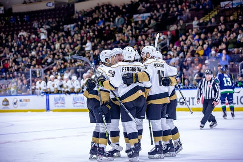 The Newfoundland Growlers will be back on the ice at Mile One Centre this fall as the result of a new three-year lease agreement announced Wednesday. The Growlers will play their 2021-22 home opener Nov, 5, almost 20 months after their last appearance at Mile One. Because of the pandemic, the ECHL team hasn't operated since March 2020.  — File photo/Newfoundland Growlers