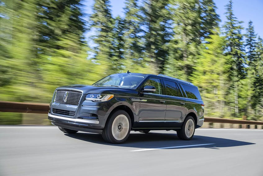 Lincoln says Navigator is the very definition of its brand. Handout/Lincoln