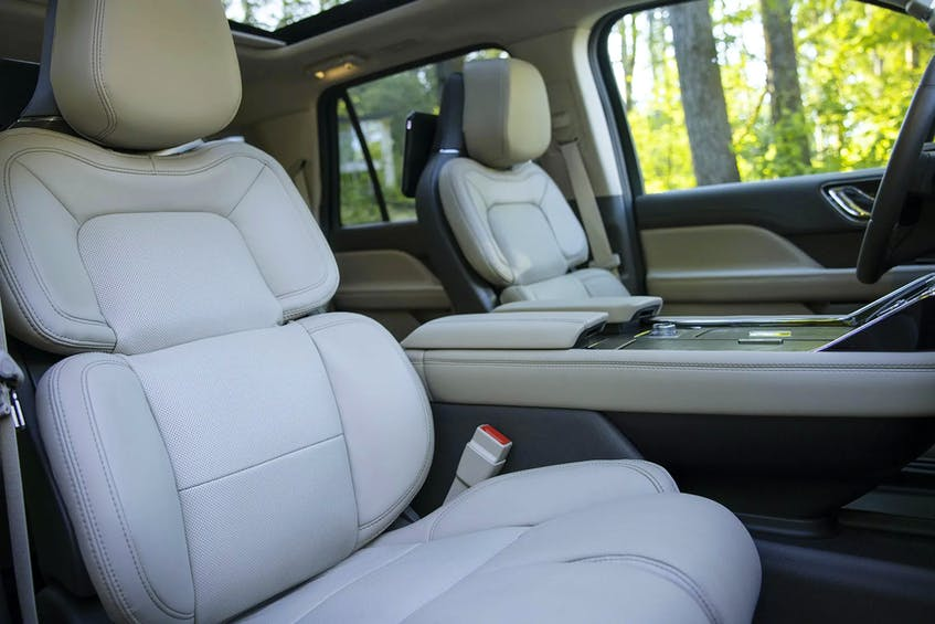 The 2022 Lincoln Navigator Flight Blue Reserve comes with an upgraded massage system for the front row. Handout/Lincoln - POSTMEDIA