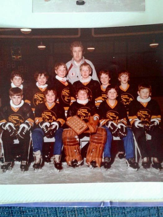 Coach Albert Johnson played a big role in Cail MacLean's minor hockey days in Middleton, N.S. - Contributed