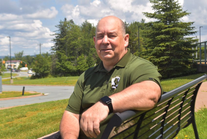 Truro paramedic Todd Mills said the value in the Helping the Helpers conference is hearing others talk about battling Post Traumatic Stress Disorder and what has helped them.