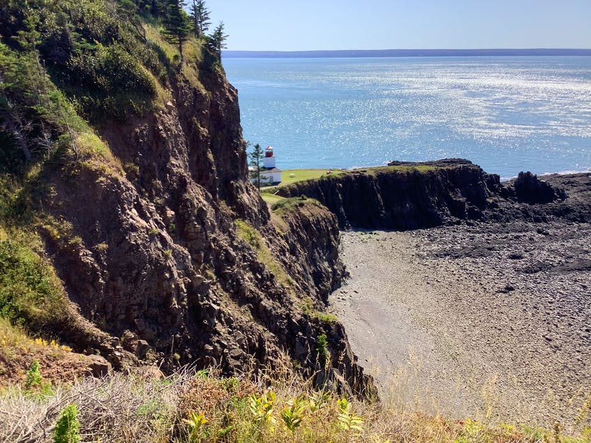 At Cape d'Or, you can enjoy panoramic views above the point where the Bay of Fundy runs into the Minas Channel. - Photo Courtesy Tourism Nova Scotia.