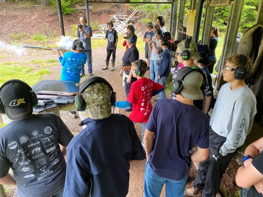 Beyond earning their firearms certificate, participants in the four day Water'N Woods programs learn outdoor survival, responsible hunting practices, fishing water safety. - Courtesy of Women That Hunt