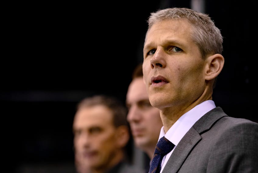 Middleton's Cail MacLean was recently named an assistant coach with the Calgary Flames.  Calgary Flames • Special to SaltWire Network
