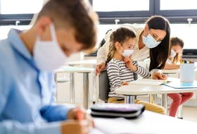 Masks will also be required for staff in classrooms for kindergarten to Grade 6 when physical distancing is not possible and will be required for staff and students in all grades on school buses.