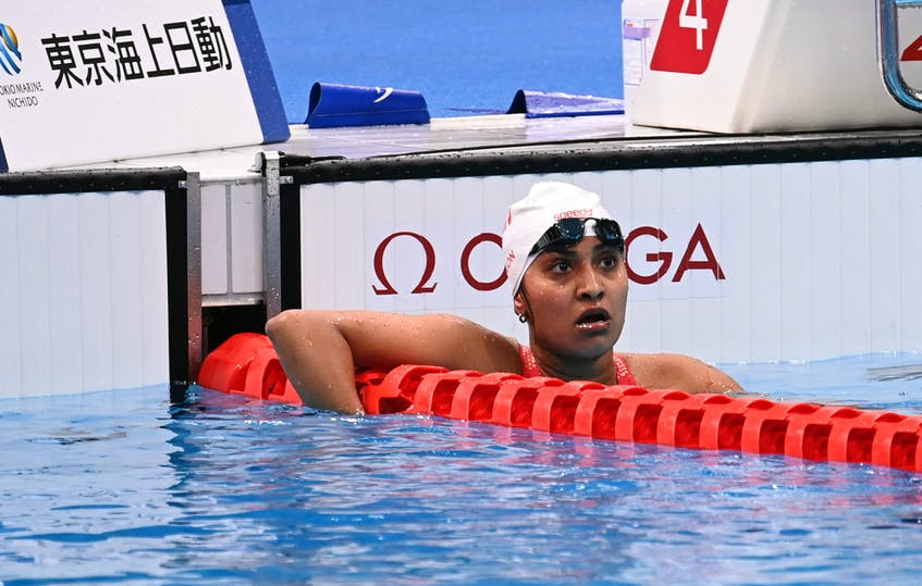 Roxon was admittedly disappointed with her finish in the 100-metre breaststroke, an event she won at the 2016 Paralympics, but she didn't spend a lot of time wondering what could have been and instead is focusing on events still to come. — Swimming Canada/Facebook