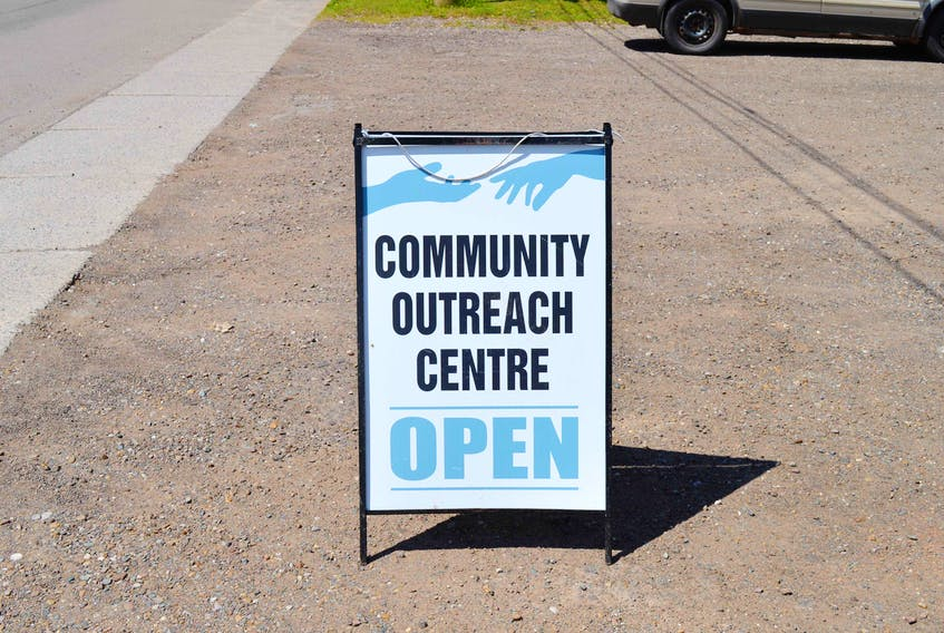 The Community Outreach Centre in Charlottetown is located on Euston Street in the former curling club location.