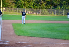 Charlottetown Gaudet's Auto Body Islanders' Grant Grady received two New Brunswick Senior Baseball League awards recently. Grady was named a co-recipient of the all-star award at third base and received an award for sportsmanship and ability.