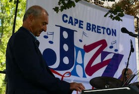 When he's not organizing music events, Cape Breton Jazz Festival founder Carl Getto can usually be found playing his favourite style of music. He is shown here playing at the 2020 Cape Breton Jazz Festival. CONTRIBUTED • ROCKPIXILS