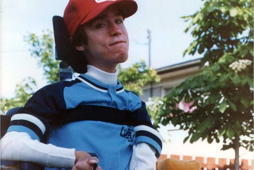 Photo of Mike Reid taken approximately two years before his death as a result of Duchenne muscular dystrophy. The annual Mike Reid Memorial Softball Tournament in Greenfield Park has raised $950,000 over the years.