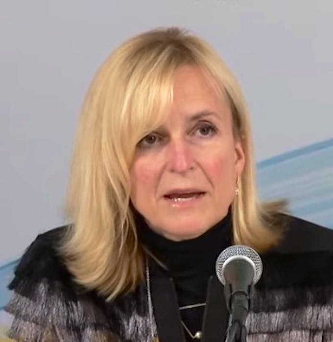 Dr. Heather Morrison, P.E.I.'s chief public health officer, is pictured at a recent COVID-19 media news conference. - Contributed