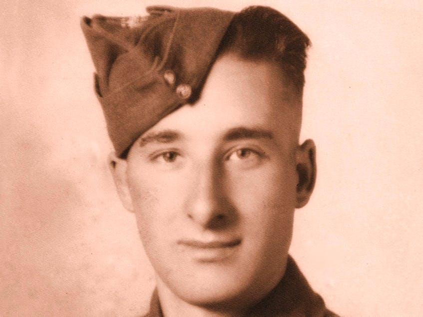 A young Charles 'Charlie' Muise as he looked during the Second World War. CONTRIBUTED