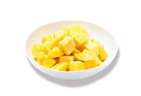 Public Health Agency of Canada officials listed UPC and best before dates for possibly contaminated 2 kg bags of Natures Touch and 600g bags of Compliments, Irresistibles and Presidents Choice frozen mangoes.