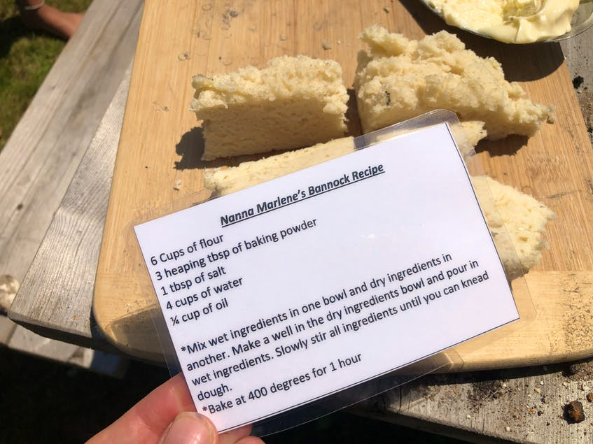 The bannock recipe used at the Mi'kmaq Cultural Centre. - Helen Earley - Saltwire network