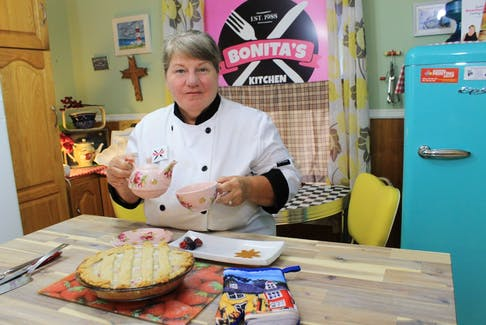"Bonita Hussey on bakeapples: ""You know, it's a sweet taste."""