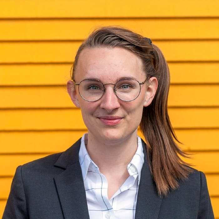 Jess Puddister is a municipal climate change advisor and a young woman running for councillor at large in St. John's. - Contributed