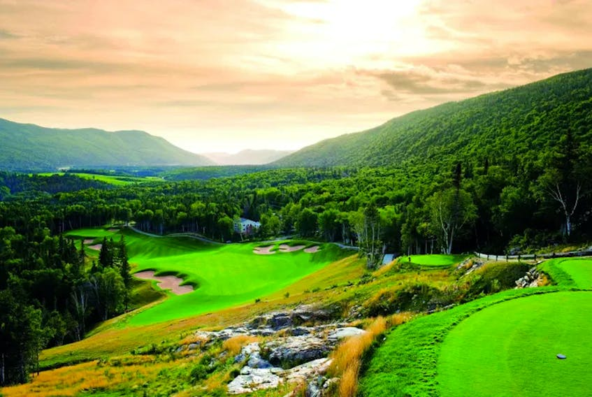 The view from the clubhouse at the Humber Valley golf course. — ScoreGolf.com