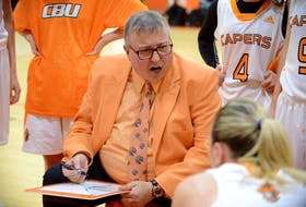 Cape Breton Capers women's basketball coach Fabian McKenzie will lead Team Canada into the 2021 FIBA Under-19 Women's Basketball World Cup, starting Saturday in Debrecen, Hungary. The Glace Bay product is the club's head coach. CONTRIBUTED • VAUGHAN MERCHANT, CBU ATHLETICS