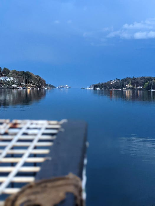 The view of Halifax's Northwest Arm from the deck of Justin Stewart lobster boat, named Emily Jane. - Contributed