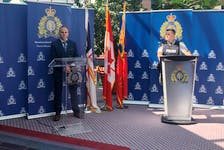 Newfoundland and Labrador RCMP, announcing the 10 arrests and multiple charges that resulted of Project Bonshaw, a months-long drug investigation in eastern Newfoundland.