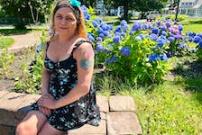 """""""I was never truthful to myself so I was never technically truthful with anybody, pretending to be who I used to be, the gender I was born into."""" — Krista Marie Kennedy, 43. NICOLE SULLIVAN/CAPE BRETON POST"""
