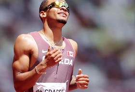 Andre De Grasse already has an Olympic bronze in the 100m.