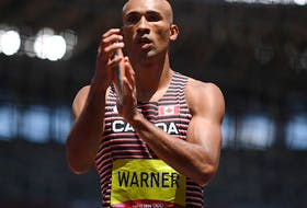 Damian Warner put together a strong showing on both days of the Olympic decathlon at the Tokyo Summer Games.