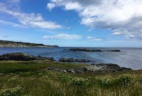 The coastline at Eliston.
