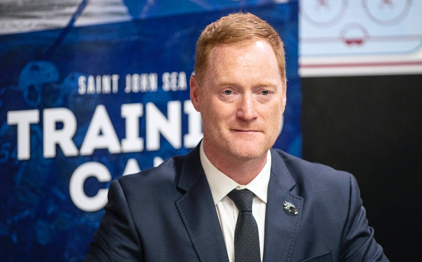 Stratford resident Gordie Dwyer is returning to the Quebec Major Junior Hockey League as head coach of the Saint John Sea Dogs. - Michael Hawkins/Special to The Guardian