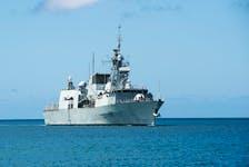 Files: Royal Canadian Navy frigate HMCS Ottawa