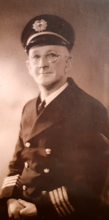 Captain Emery F. Peters was reportedly the first to die in the lift-raft after the 1946 sinking of the Robert G. Cann steamer. CONTRIBUTED - Saltwire network