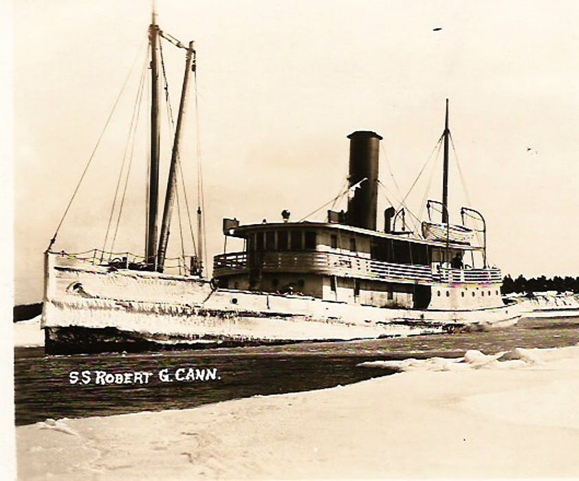 The SS Robert G. Cann. The vessel sank in February 1946. Of the 13 people onboard who had to evacuate to a lifeboat, only one person survived. HISTORICAL FILE PHOTO - Saltwire network