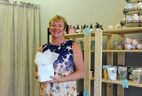 Sherri MacLean of Pamper and Relax hopes to give people an all-natural experience with her and her sister's creations.