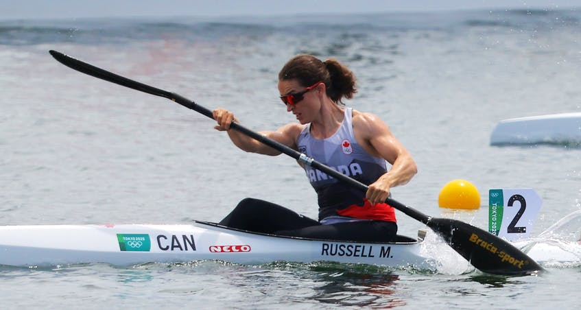 Nova Scotia's Michelle Russell in action for Canada at the Olympics in Tokyo. - Maxim Shemetov
