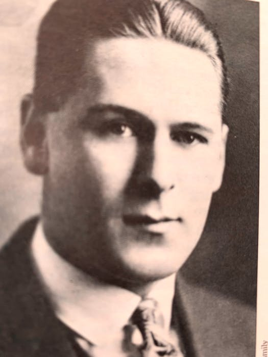 Phil MacDonald of Charlottetown competed in the 400-metre hurdles for Canada at the 1924 Summer Olympics in Paris. - P.E.I. Sports Hall of Fame